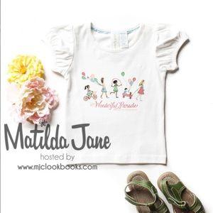 Matilda Jane Hopscotch Tee   NWT